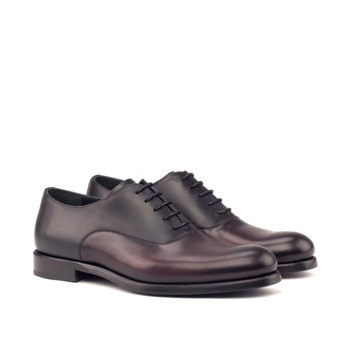 Burgundy boxcalf women's shoes