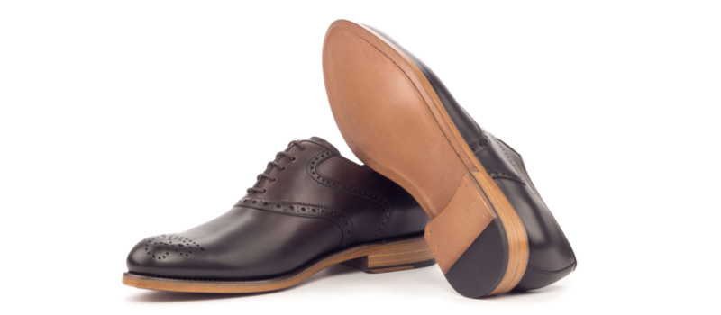 Bespoke Brown Saddle Oxford shoes for women Cambrillon
