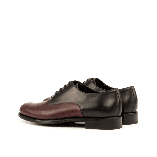 Bespoke Saddle Oxford shoes in leather for women Cambrillon