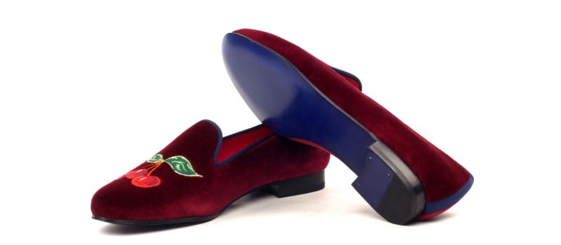 Bespoke Velvet slipper for women Cambrillon