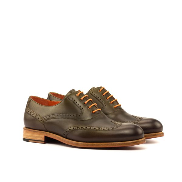 Bespoke Women Full Brogue Oxfords by Cambrillon