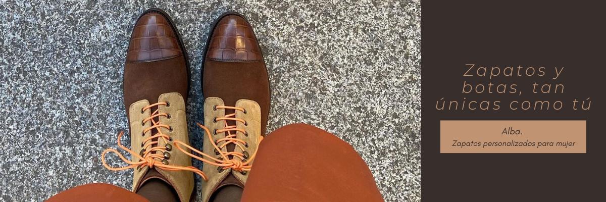 Alba: colección de calzado de lujo personalizado para mujer
