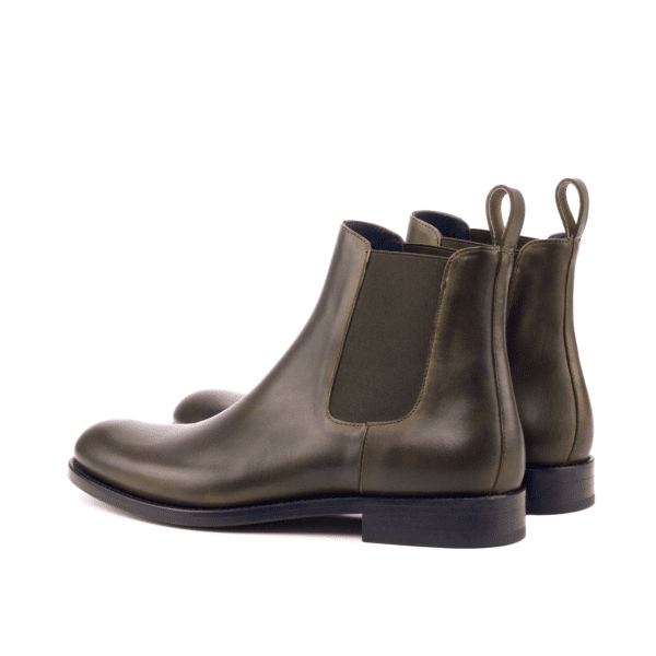 Women Chelsea Boot  Painted Calf Olive