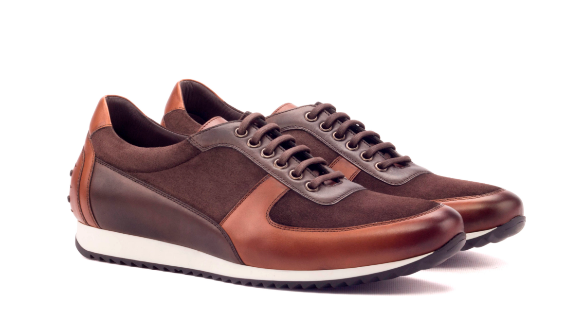 Corsini - Painted Calf Med Brown-painted Calf Dark Brown