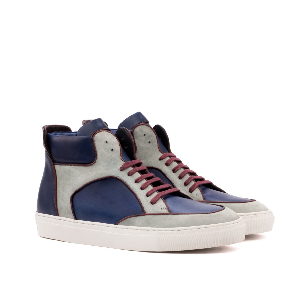 Hand painted high top sneakers