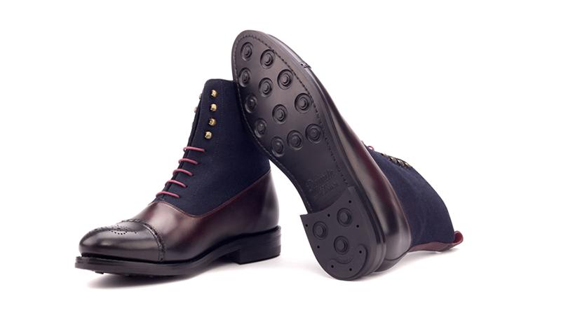 balmoral boot burgundy
