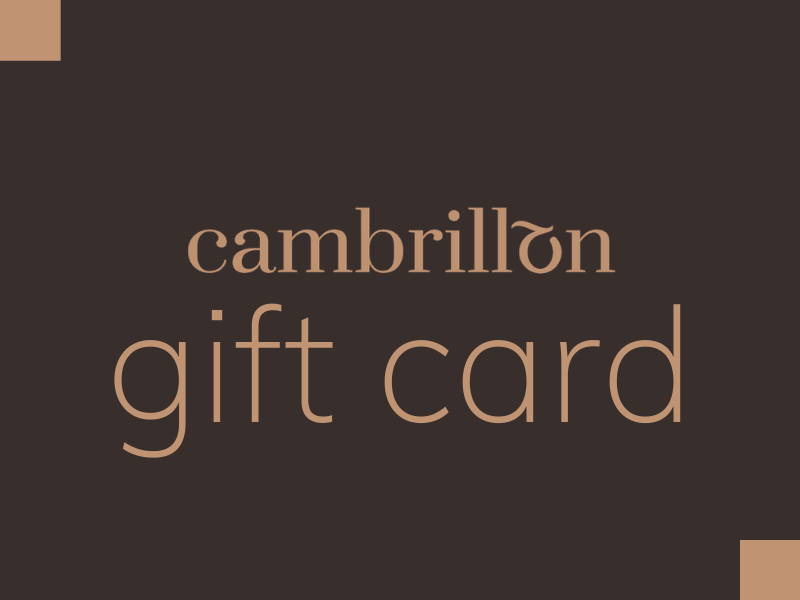 Cambrillon gift cards