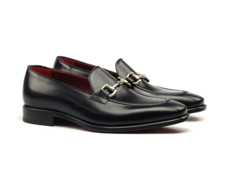 Gucci loafer for men in black leather Cambrillon