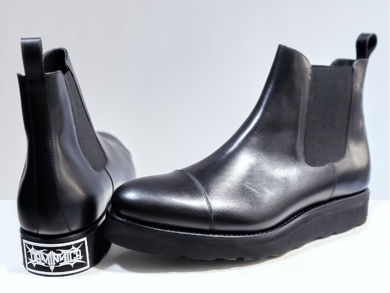 Omega by Dominnico Chelsea Boot Black