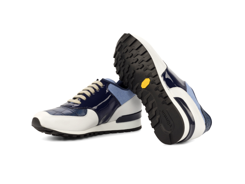 Jogger-Sneaker-for-men-in-blue-and-white-calf-leather-Cambrillon-3.png