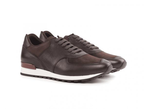 Jogger sneaker for men Cambrillón brown