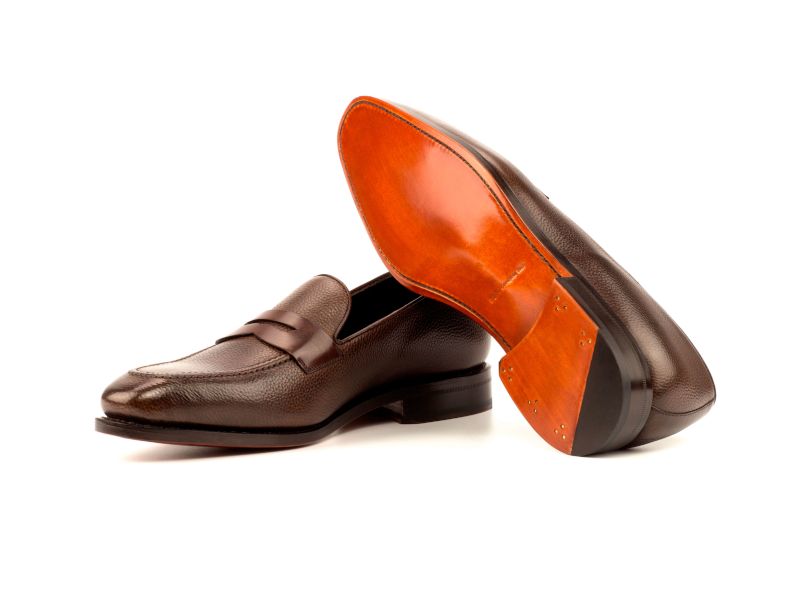 Penny-loafer-marron-para-hombre-full-grain-Goodyear-welted-Cambrillon-3.png