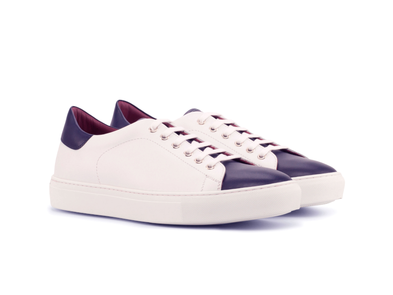 Trainer sneaker for men Cambrillón white and blue