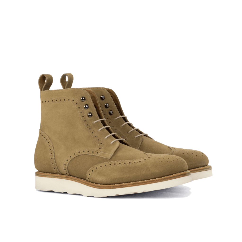Goodyear Welted Wingtip Boots for men Cambrillon