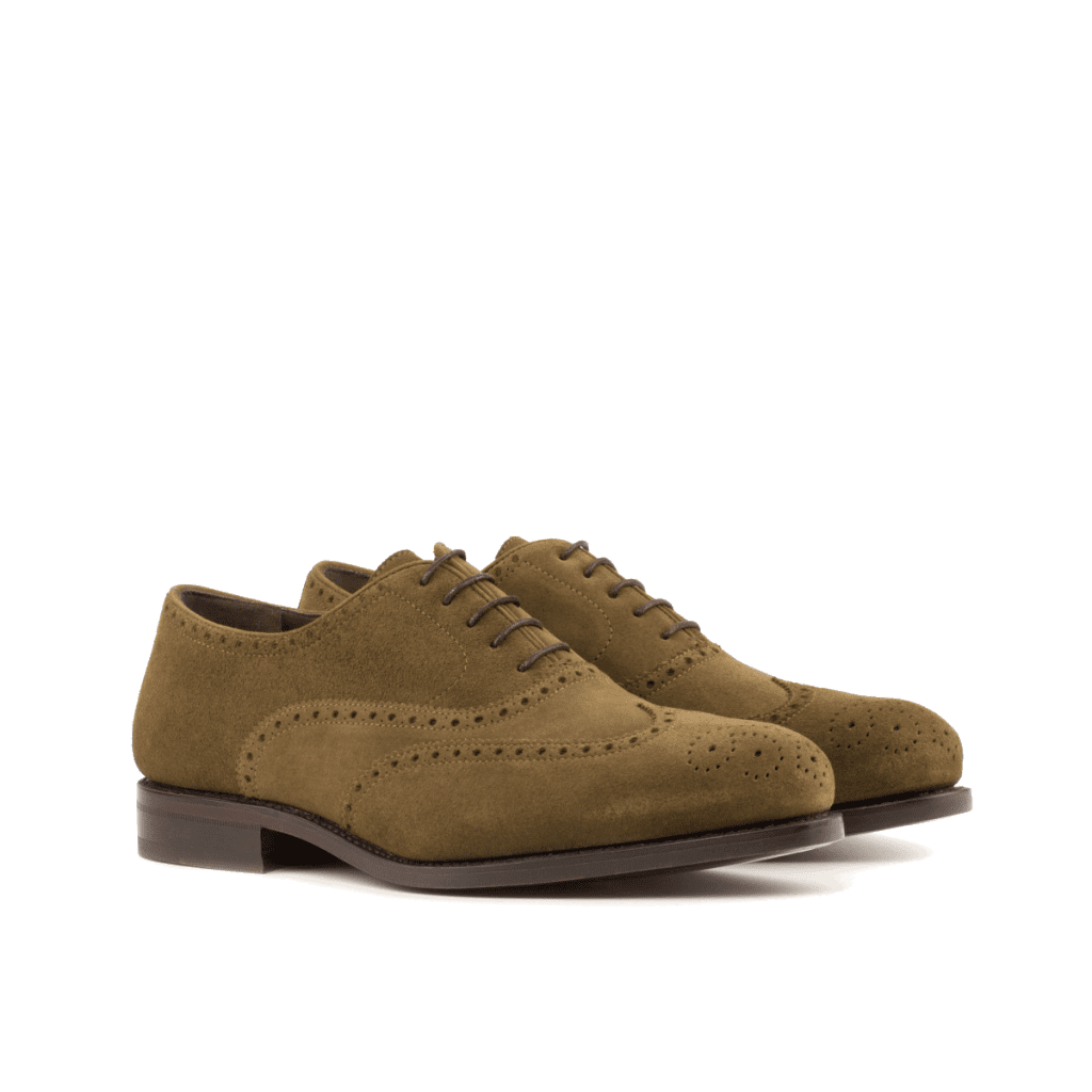 Goodyear Welted suede Oxford shoes for men Cambrillon